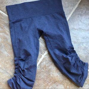 lululemon athletica Pants - LULULEMON Flow & Go Cropped Athletic Leggings Sz 6